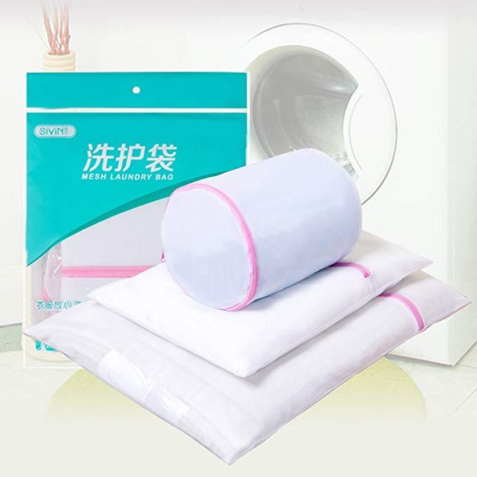 Phương tây giặt túi 3 bộ dày lưới tốt thiết kế rửa túi lưới túi máy giặt rửa đặc biệt túi đồ lót áo