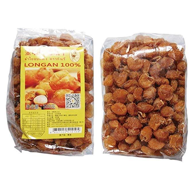Thái nhập khẩu đồ ăn nhẹ Longan trái cây sấy khô 500 gam Thực Phẩm Nhập Khẩu trái cây Khô