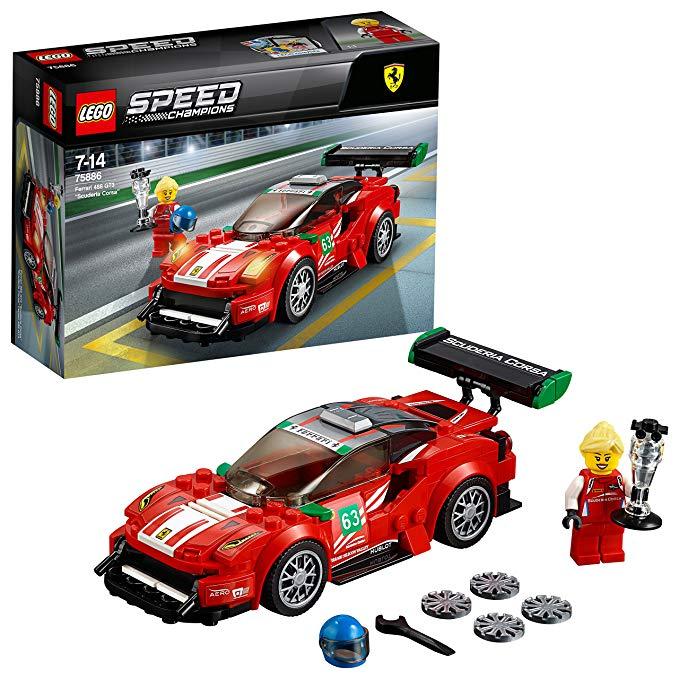 LEGO Đồ chơi lắp ráp mô hình kiểu xe đua