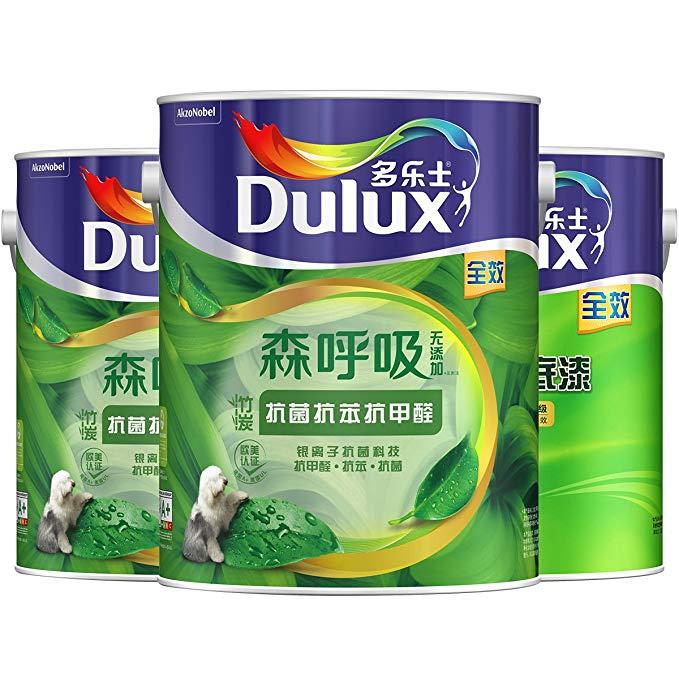 Dulux Dulux A8117 than tre hơi thở không có thêm kháng khuẩn chống benzen chống formaldehyde hiệu ứn