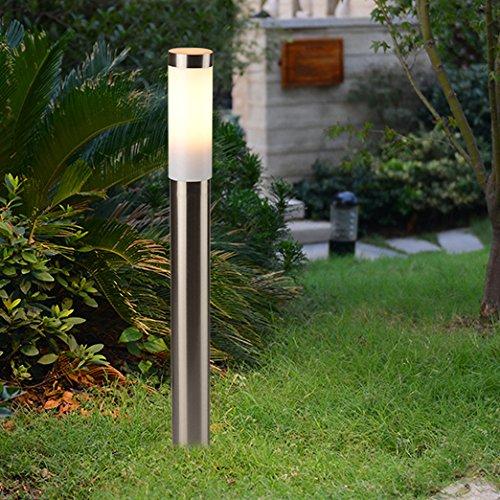 Thép không gỉ ánh sáng đường phố 80 cm cao IP44 ngoài trời không thấm nước ánh sáng vườn ánh sáng sâ