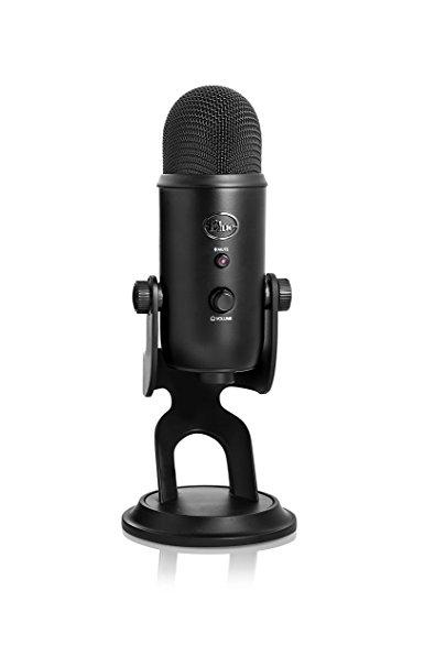 Micrô màu xanh dương Yeti Microphone