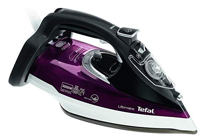 Tefal FV9788 cuối cùng chống bỏng hơi nước 3000 watt sâu đỏ