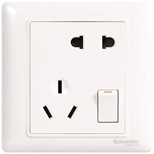Schneider Electric Schneider Công Tắc Điện ổ cắm Ổ Cắm bảng điều chỉnh 10A thất lạc năm lỗ ổ cắm với
