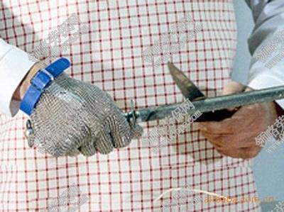 () nhập Chainex chống cắt dây kim loại găng tay găng tay chống cắt ngắn.