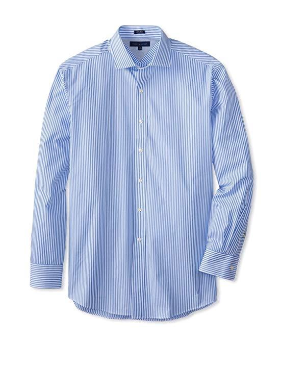 Tommy hilfiger tommy hilfiger người đàn ông bông mỏng phù hợp với áo sơ mi