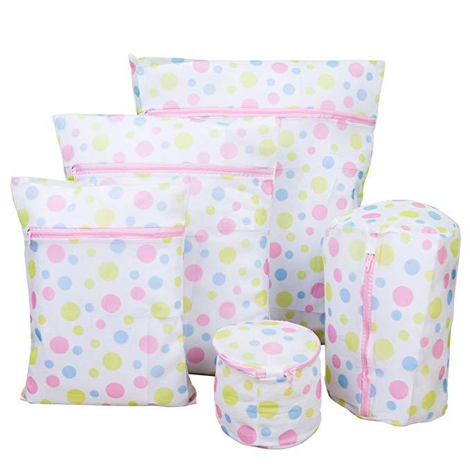 Bao Youni thiết kế túi giặt túi giặt 5 bộ của giặt túi lưới máy giặt đồ lót áo ngực túi đồ lót túi