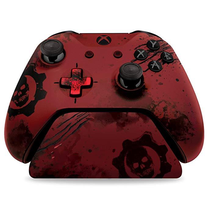 Điều khiển Gear War Machine 4 Crimson Omen - Phiên bản giới hạn Controller đứng V2.0 - Red - XBOX ON