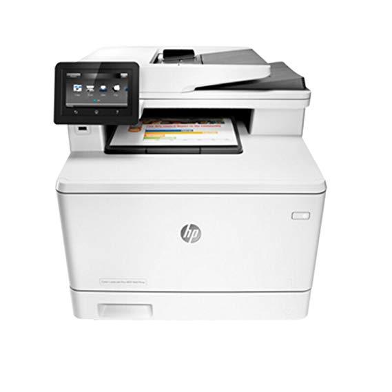 HP / HP M377dw màu A4 laser tự động hai mặt máy in HP máy photocopy máy quét