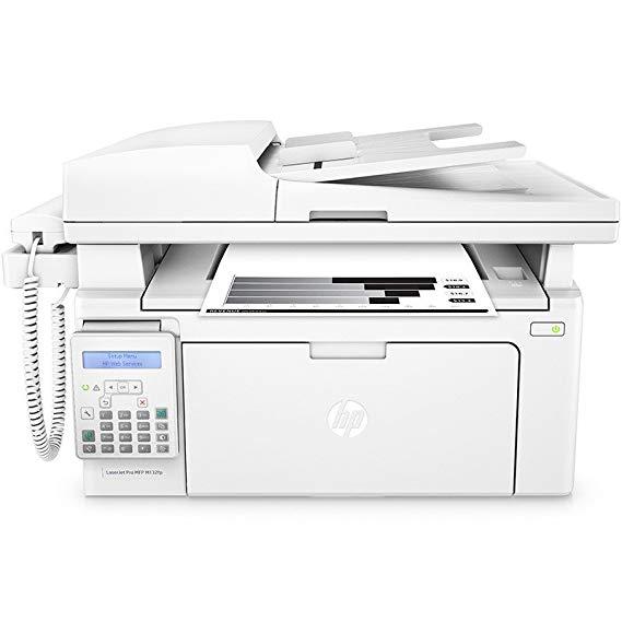 HP M132fp màu đen và trắng laser mạng in bản sao scan điện thoại giấy A4 máy fax một máy bốn trong m