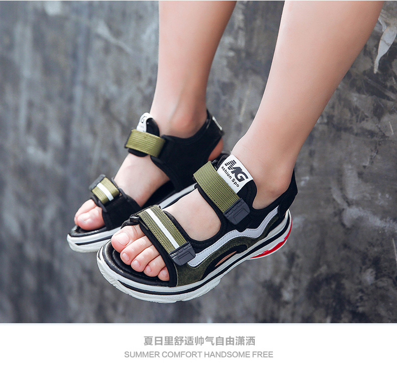 Giày Sandal dành cho trẻ em mùa hè , có nhiều màu .