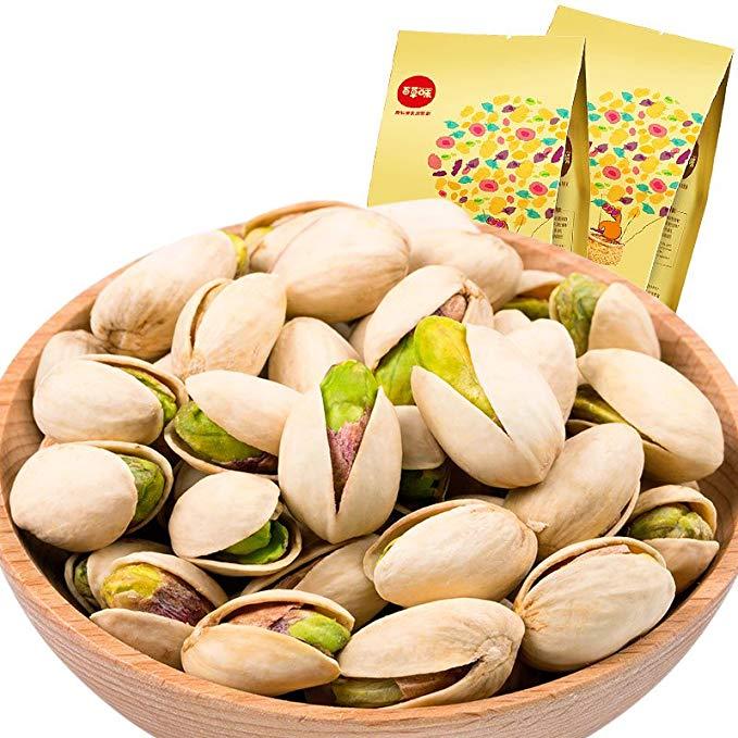 BE & CHEERY Herbs Pistachio 200gx2 Bag (Mỹ không có thực phẩm tẩy trắng đặc biệt Nuts rang hàng hóa)