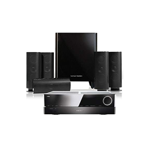 Harman Kardon Harman Kardon HKTS 60BQ + AVR161S Khuếch Đại 5.1 Home Theater Home Loa Audio Set 60BQ