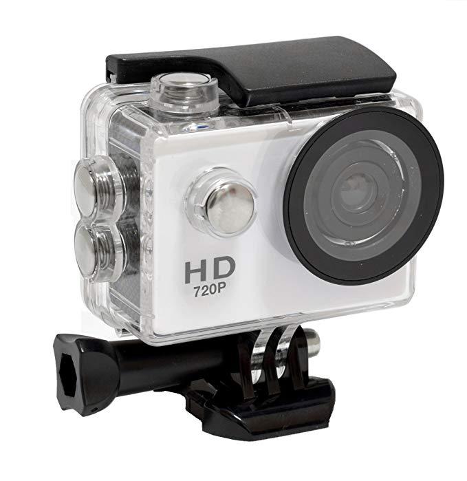INBES Action Camera Camera chống nước 30m Camera chống nước và Camera hành động có gắn bộ phận SC1HD