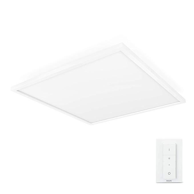 Philips Philips Đèn LED trắng Hue Ambiance Bảng điều khiển ánh sáng Aurelle trắng 60 x 4,6 x 60 cm
