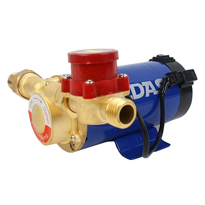 MEDAS Midas B & Q 90 wát bơm đồng đầu hộ gia đình năng lượng mặt trời gas máy nước nóng bơm tăng áp