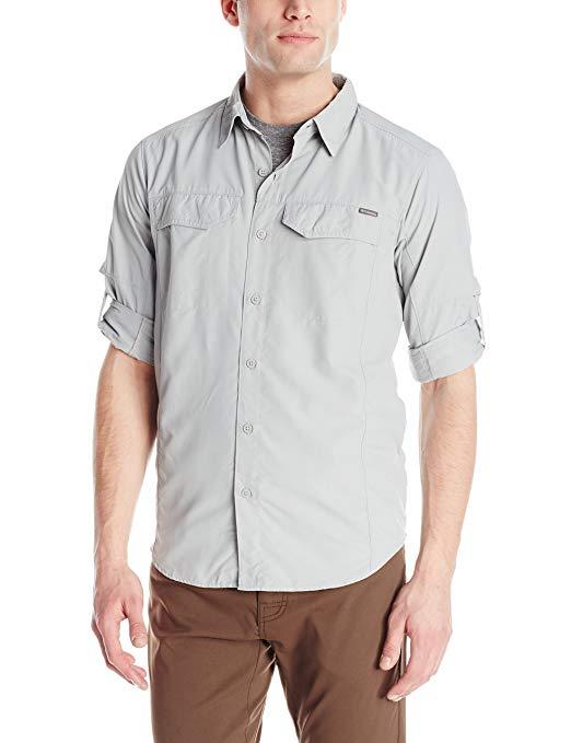 Columbia SPORTSWEAR của nam giới bạc Ridge dài tay áo