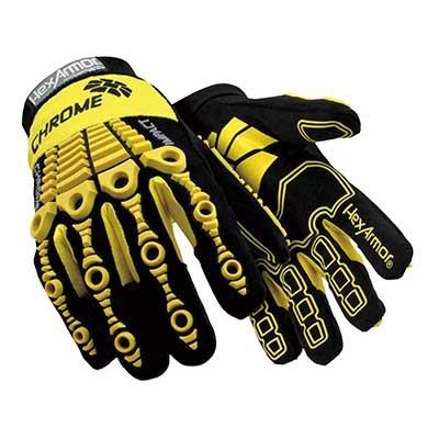 Mỹ 4025 ưu việt Hexarmor chống va chạm máy móc găng tay chống siết găng tay chống cắt đôi găng tay đ