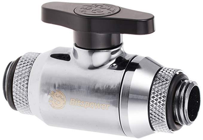 Bitspower G1 / 4 inch chủ đề quay Kép (360 độ xoay) G1 / 4 inch với extender Mini van