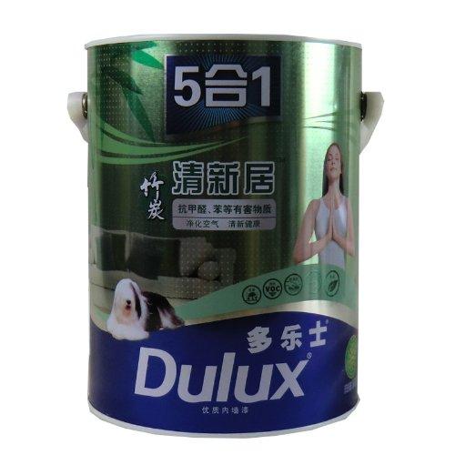 Dulux Dulux Than tre Nhà tươi 5-trong-1 Tường Kết thúc A895 5L Sơn nội thất Sơn cao su Sơn