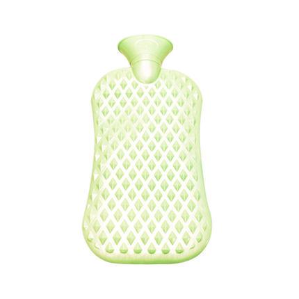 Le Xueer PVC thủy lợi nước pearlescent eo massage nhựa chai nước nóng 1800 ML