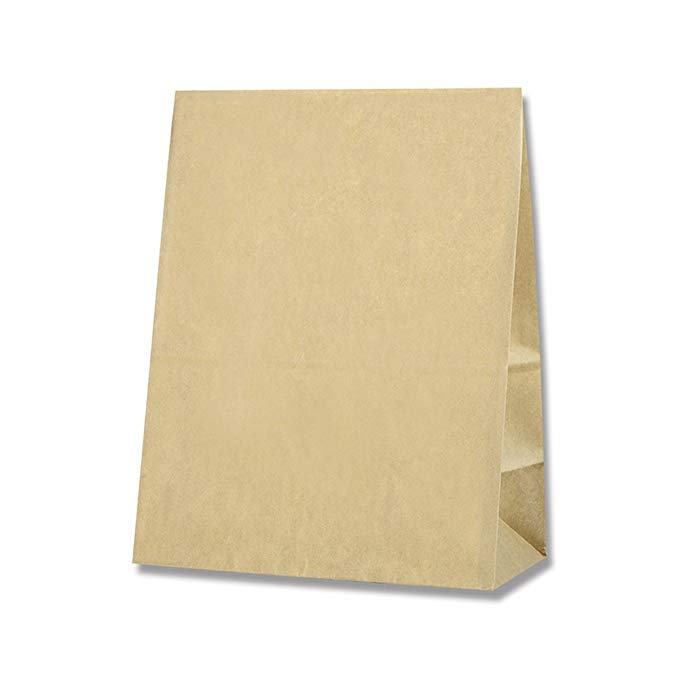 Heiko túi giấy túi thực phẩm bánh túi nhỏ n đường màu 16x9x20.5cm 100 tờ hàng thủ công mẹ