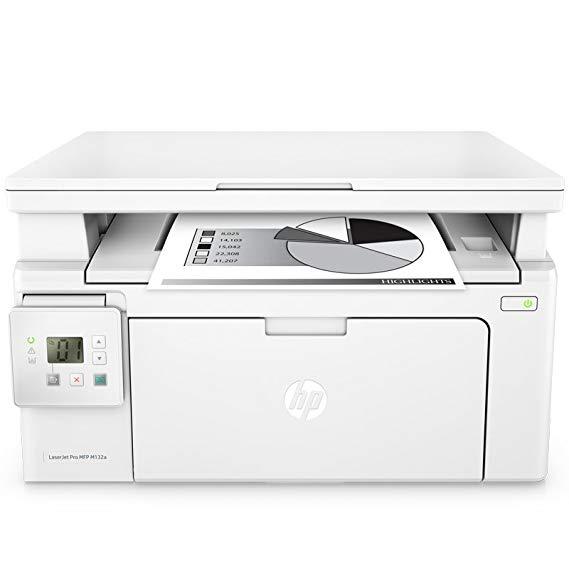 HP / HP M132a đa chức năng máy in laser màu đen và trắng máy A4 copy scan văn phòng nhà mới