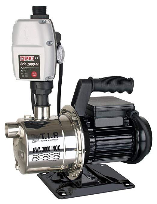 T.I.P. 31142 HWA 3000 Máy bơm nước gia dụng bằng thép không gỉ