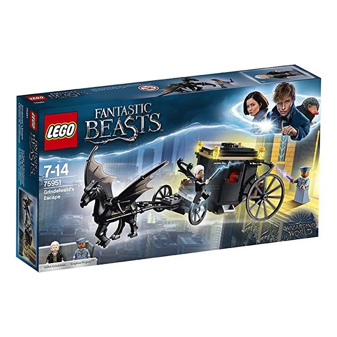 LEGO đồ chơi Lắp ráp hình Harry Potter  loại Grindelwald - 75951 .