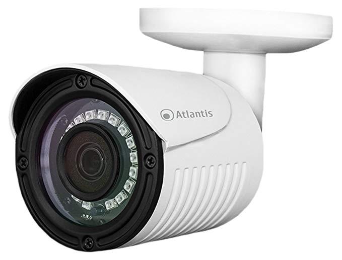 Atlantis Land AHD-821B IP * Camera ngoài trời Bullet Trắng 1920 x 1080 pixel