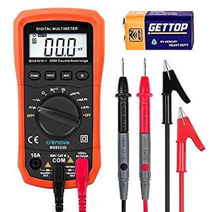 dụng cụ đo lường -crenova - ms8233d tự động khác nhau, kỹ thuật số vạn năng điện tử .
