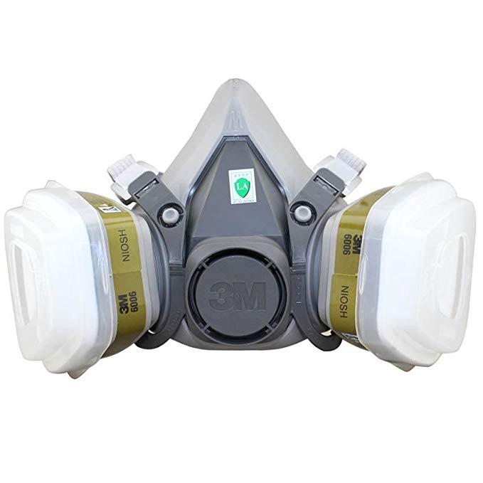 Mặt nạ bảo vệ mặt nạ bảo vệ 3M đặt 6200-6006 bảy mảnh (bảo vệ nhiều khí)