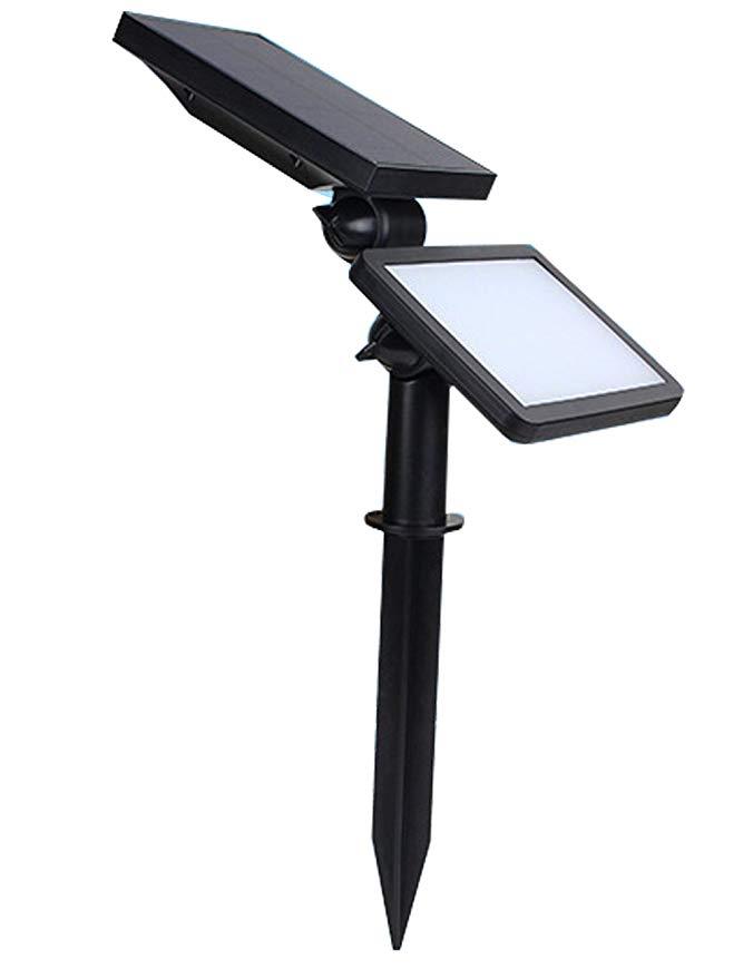 Pajdi lò vi sóng cảm ứng 48LED ánh sáng mặt trời ngoài trời ánh sáng sân vườn năng lượng mặt trời tư