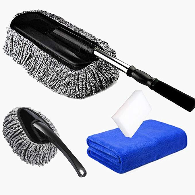 bàn chải rửa xe và lau chùi , đa năng , Xoay mềm CARSEMOO .