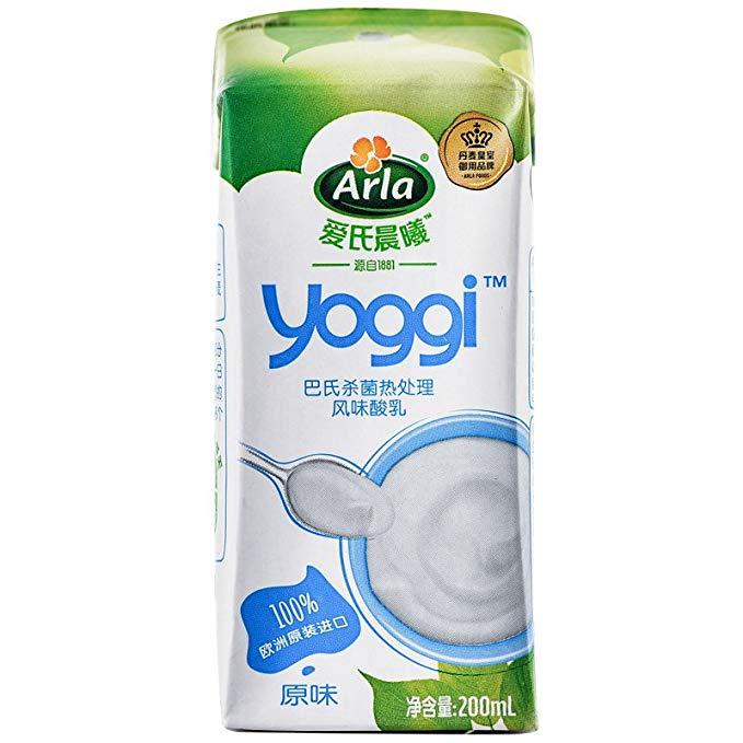 Sữa chua buổi sáng của Arla Ai'sgi Nhiệt độ bình thường 200ml * 12