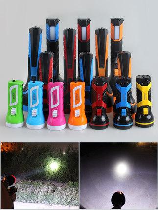 Kang Ming led nhỏ đèn pin mini home sạc chói tầm xa nổi bật di động ngoài trời cắm trại đèn pin