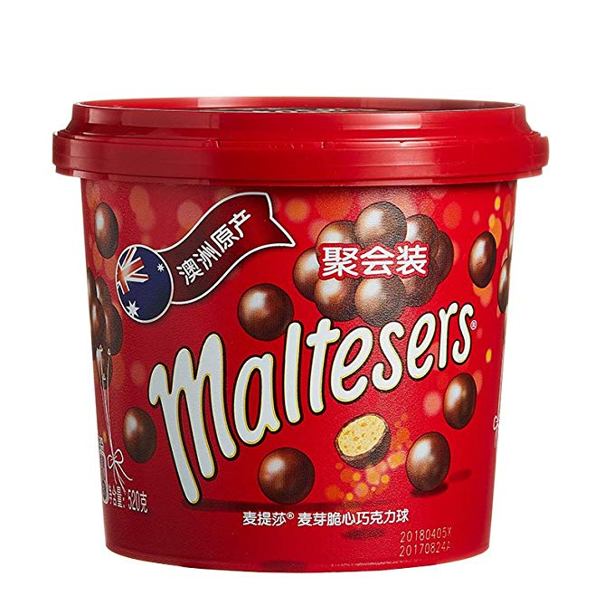 Maltesers Maltese Sữa sô cô la Milky Crisp Chocolate (Thùng) 520g