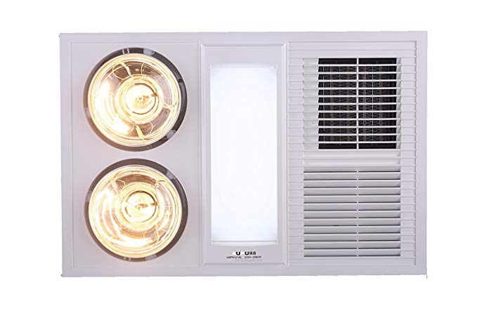 AUPU đèn sưởi ấm không khí loại nhôm , tích hợp trần Yuba HDP5121AL