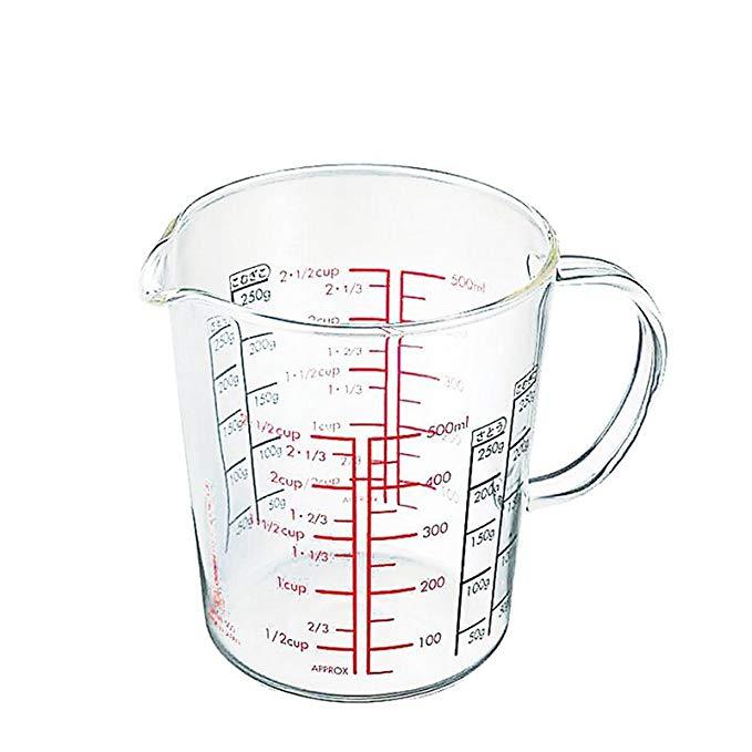 Cốc thủy tinh chịu nhiệt Prointxp (500 ml)