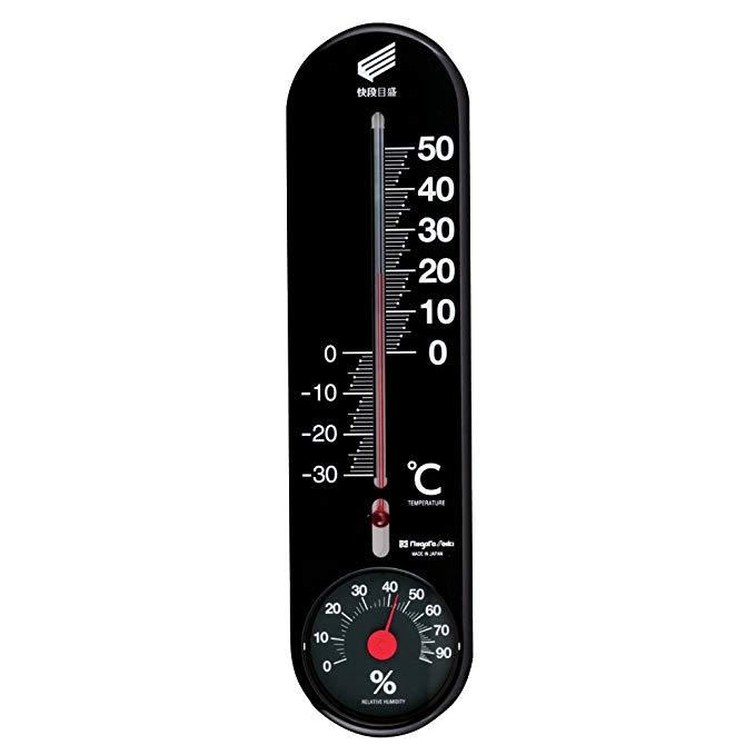 SK Nhiệt ẩm kế Tốc độ nhanh Đen SK-1722KD