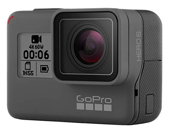GoPro HERO6 Đen Thể Thao Máy Ảnh 4K60 Khung Đôi Hiệu Suất Điều Khiển Bằng Giọng Nói Chống Rung Không