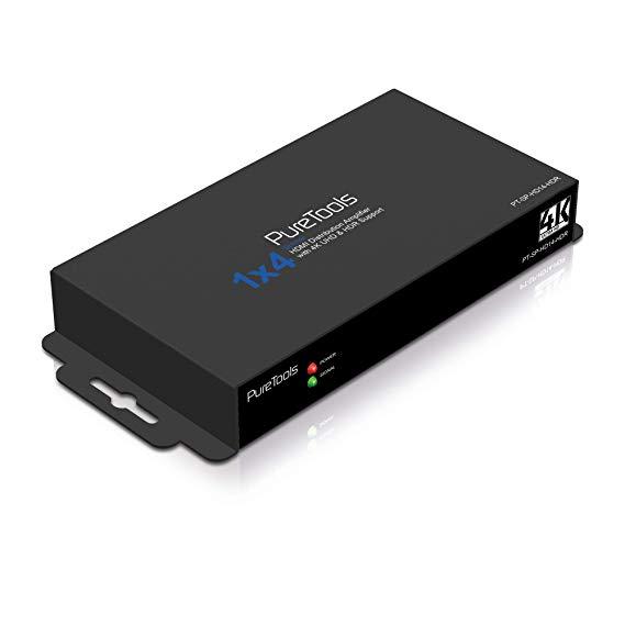 PureTools PT-SP-HD14-HDR HDMI 4K Phân phối điện HDR 1x4
