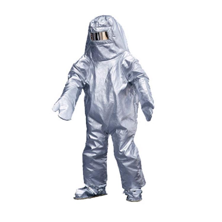 Honeywell 4100004-1-45-P B4 tránh lửa cách nhiệt phục 1000 độ bức xạ áo quần áo chống cháy Báo cáo