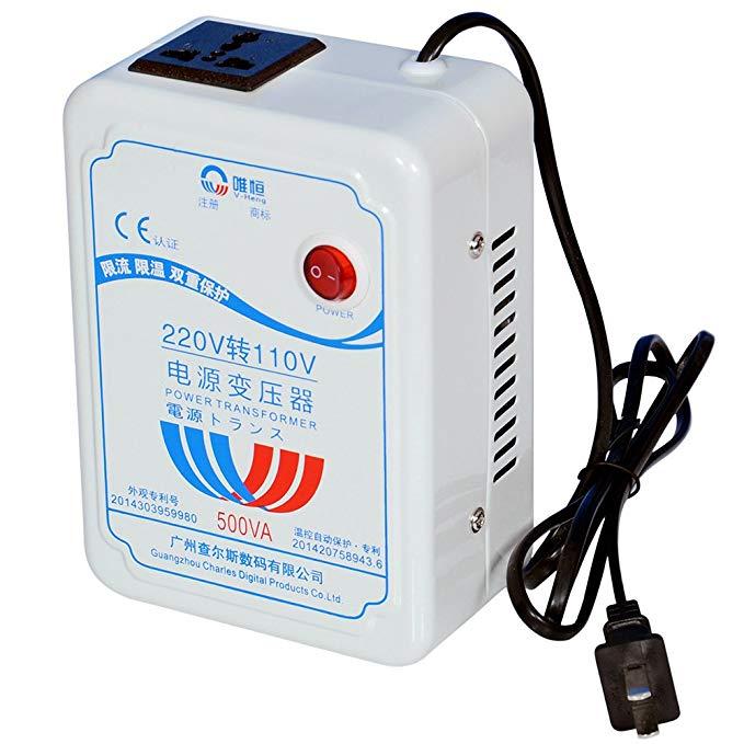 Weiheng WHB-500VA Transformer 220 V đến 110 V Nhập Khẩu điện cung cấp điện chuyển đổi điện áp có thể