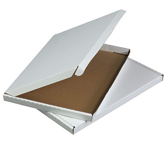 Triplast C4 * Kích thước lớn 332 x 245 x 20 mm trắng PIP tông hộp thư lớn Thích hợp cho Royal Mail (