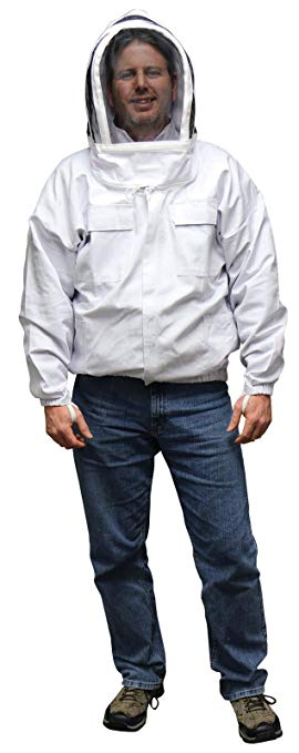 MANN LAKE nền kinh tế tổ ong áo khoác với tự hỗ trợ mạng che mặt, 3XL mã