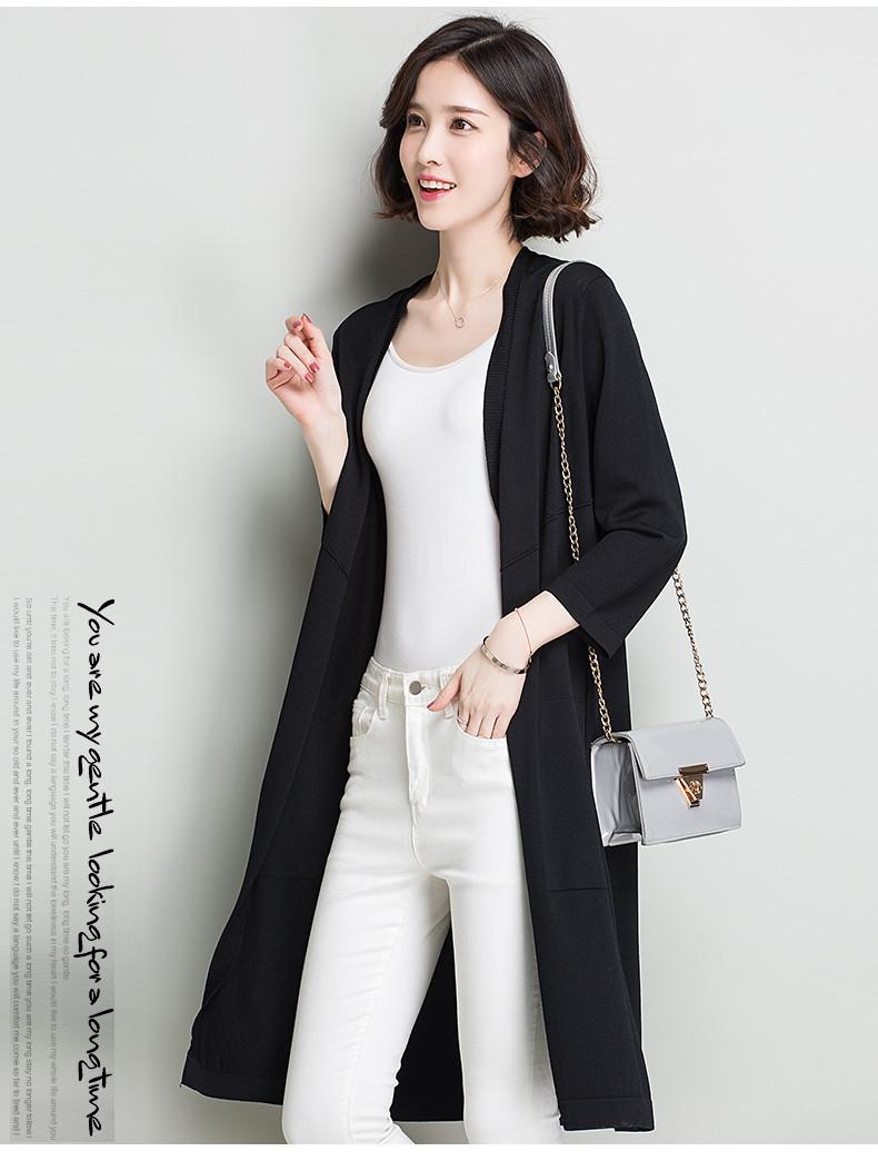 Áo khoác len nữ dáng dài, mỏng nhẹ và sang trọng