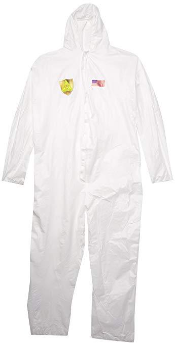 Green Mountain Sản phẩm Florida Coast 44-1468XL Bờ biển Florida * và * Quần áo bảo hộ, XL, Trắng