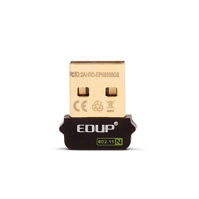 Raspberry Pi Raspberry Pi Bộ chuyển đổi USB không dây EDUP EP-N8508GS Phiên bản vàng miễn phí Drive