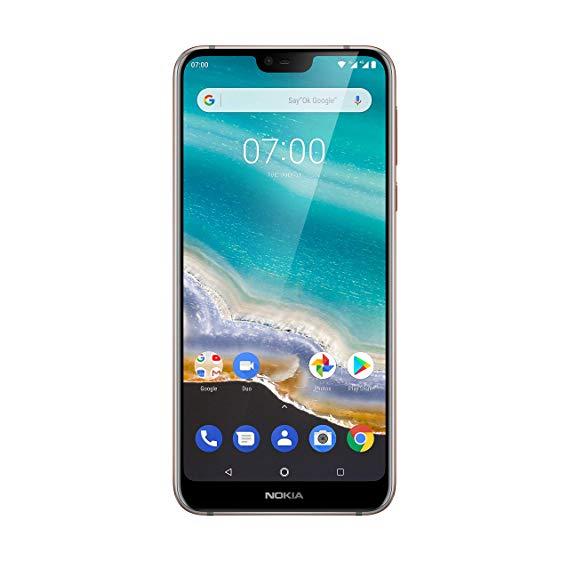 Điện thoại thông minh dual-card Nokia 7.1 (màn hình full HD 5.84 inch, bộ nhớ trong 32 GB, Android 9